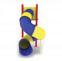 Tube Slide - Spiral 8ft - RYB